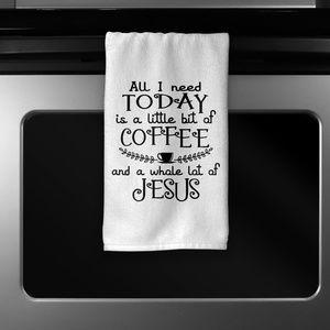 Other - Coffee & Jesus Kitchen Towel